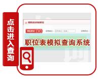 2020年河南公务员考试职位表查询