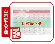 2020年河南公务员考试职位表